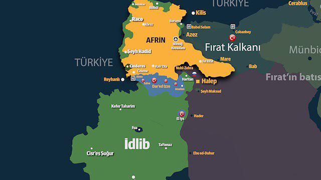 İdlib'in Yarısı HTŞ'de