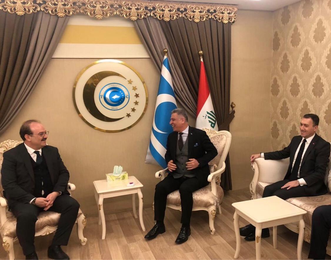 TİKA Başkanı Dr.Serdar Çam ve Büyükelçi Yıldız ITC Başkanı Salihi ile Birarada