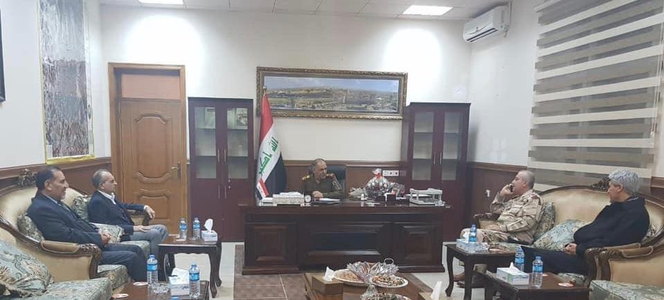 Irak Türkmen Cephesinden Kerkük Özel Kuvvetler Birliği'ne Ziyaret