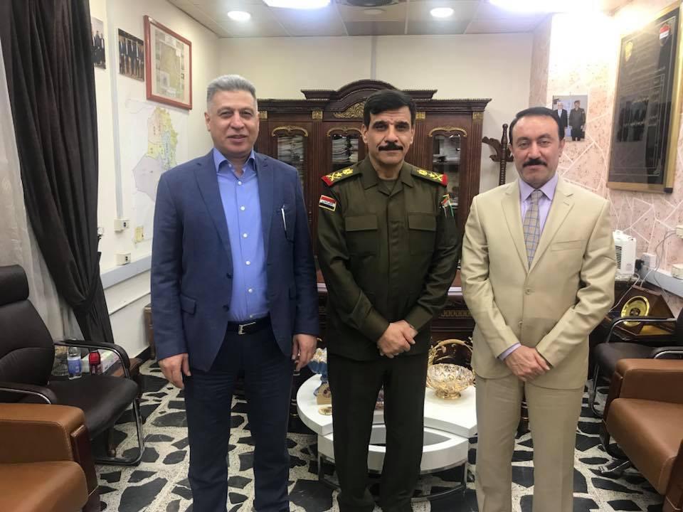 Son Dakika Salihi Irak Ortak Operasyonlar Komutanı ile Görüştü