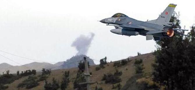 TSK'dan Irak'ın Kuzeyi, Avaşin-Basyan Bölgesine Hava Harekâtı