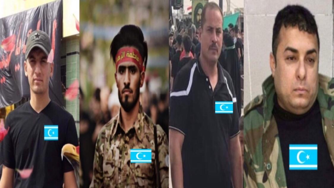6 شهداء و31 جريحاً من الحشد التركماني بهجوم ارهابي في حدود قضاء مخمور