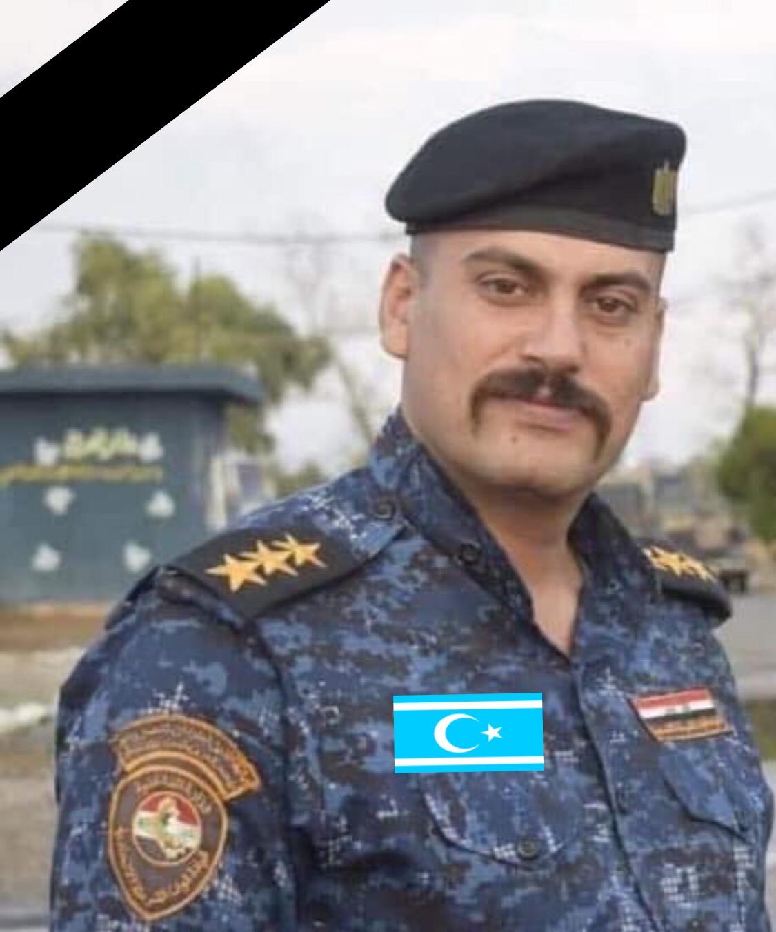 Acı Haber Telafer'li Türkmen Polisimiz Kerkük'te Şehit Oldu