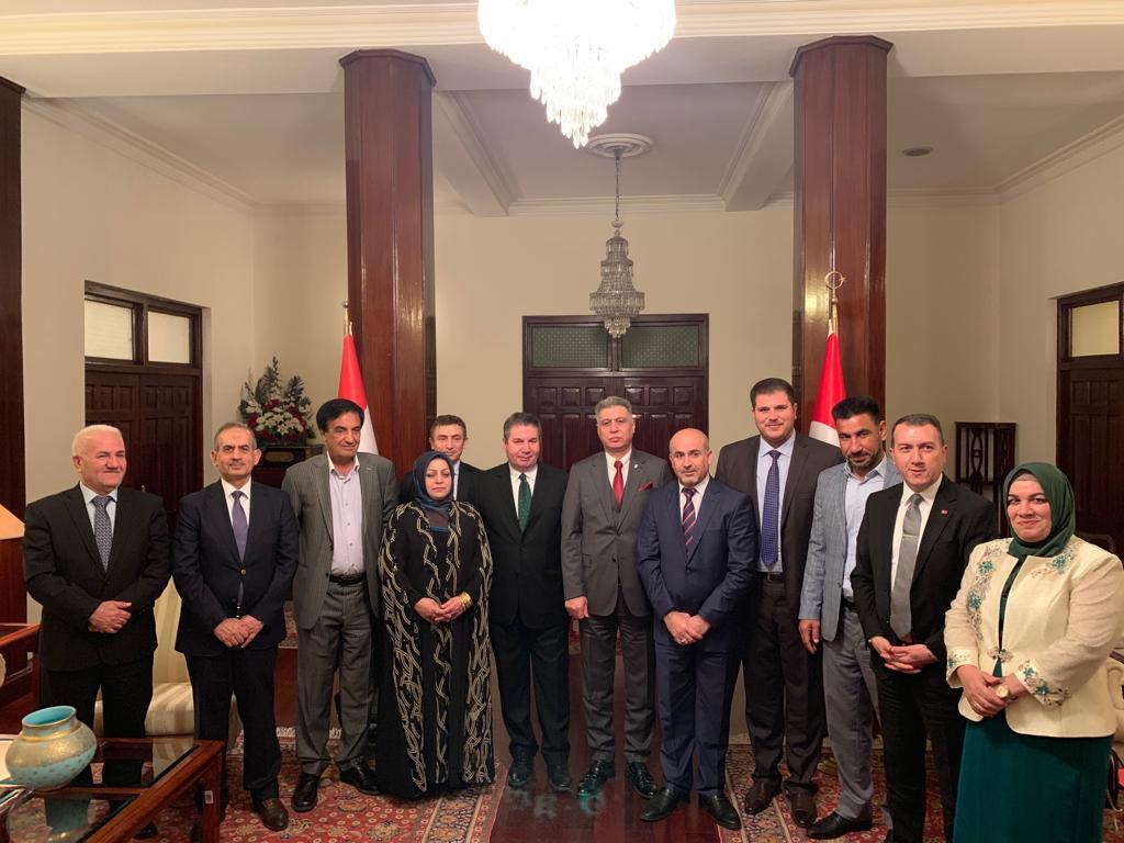 Türkmen Heyet Bağdat'ta Türkiye  Dışişleri Bakan Yardımcısı Önal İle Görüştü