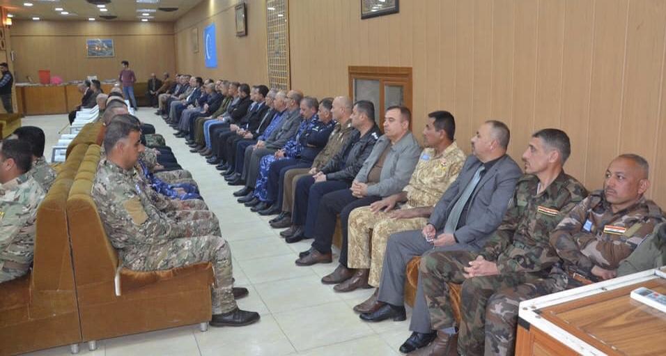 Türkmen Birliği Mahmur Şehit Askerleri İçin Kerkük'te Taziye Meclisi
