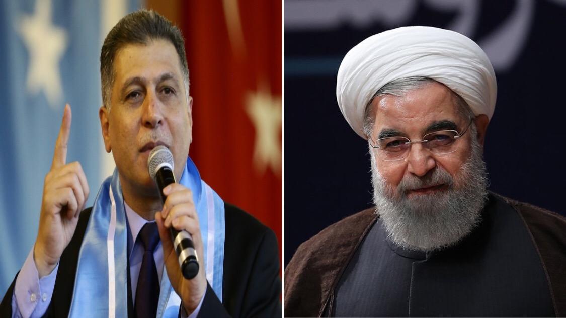 Salihi'den İran Başkanı Ruhani'ye Tarihi Açıklama:Biz Türkler Suriye ve İran'dada Varız